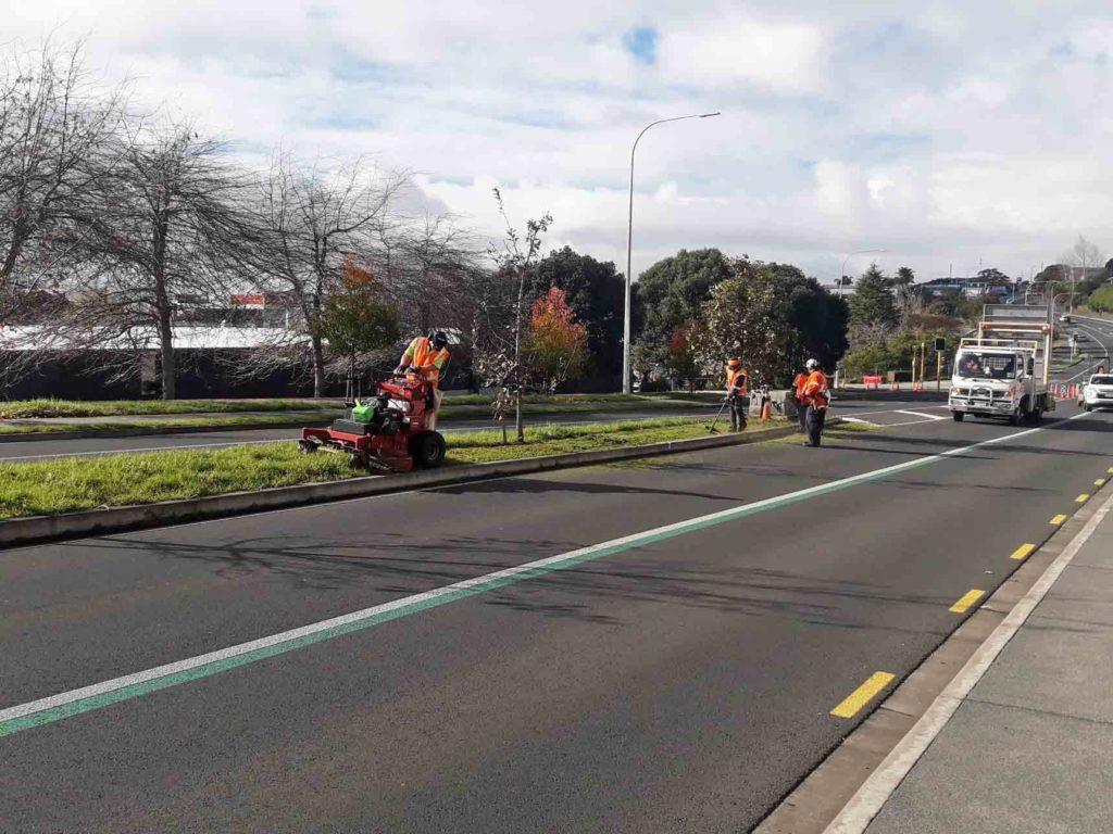 Council Roadside landscape maintenance works